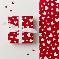 Valentines Day Hearts Wrapping Paper