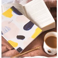 A5 Paint Swatch Pattern Lined Notebook