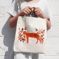 Children's Tiger Tote Bag