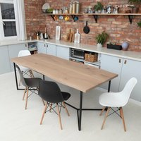 Infinity Solid Oak Dining Table