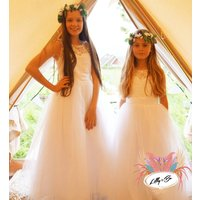 Serena Flower Girl Dress ~ Lilly + Bo Collection