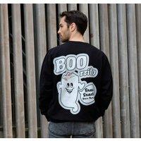 Boorrito Men's Halloween Slogan Sweatshirt