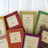 Vintage Poetry And Greek Classics Mini Library