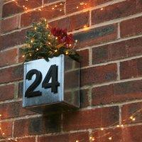 Urban House Number Planter