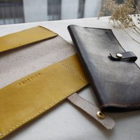 Leather Personalised Passport And Travel Holder