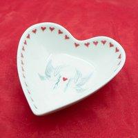 Dove Heart Shaped Dish