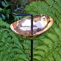 Copper Swirl Garden Sculpture