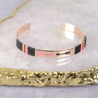 Rose Gold Bangle, Gold