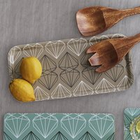 Iconic Collection Sandwich Tray, Sandstone