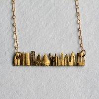 City Skyline Necklace