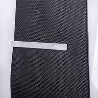 Morse Code Personalised Initial Tie Clip