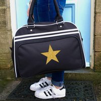 Glitter Star Weekend Bag
