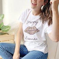 Merry Kissmas Christmas T Shirt