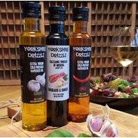 Trio Of Rapeseed Oils And Balsamic Vinegars