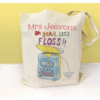 Personalised Lets Floss Dance Teacher Bag