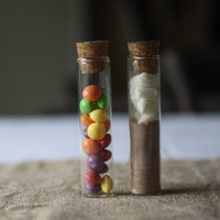 Test Tube Wedding Favour With Cork Stopper