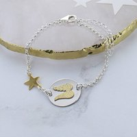 Angel Wing Star Bracelet