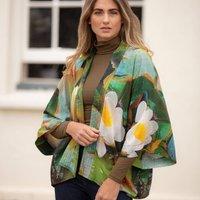 Waterlily Lightweight Viscose Kimono Top