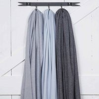 Blue Scarf / Wrap / Pashmina Collection, Violet/Pale Blue/Blue
