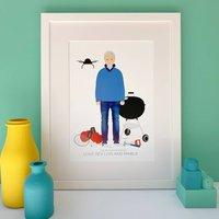 Personalised Grandad Print