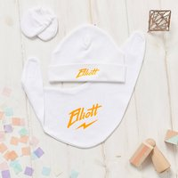 Personalised Baby Thunderbolt Small Gift Set