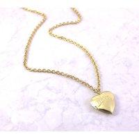 Vintage Love Heart Locket Necklace