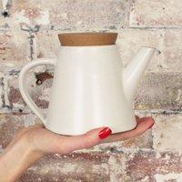 Fair Trade Handmade Glazed Stoneware Teapot