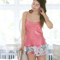 Amara Chateau Rose Silk Camisole