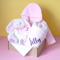 Personalised Gift Set For Baby Girl
