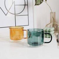 Monica Double Layered Scandi Style Mug Four Colours
