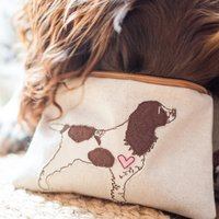 Personalised Favourite Dog Breed Fabric Coin Purse