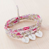 Personalised Liberty Wrap Bracelet