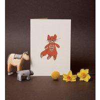 New Baby Fox Card