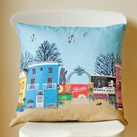 Love Bristol Illustrated Cushion Cover