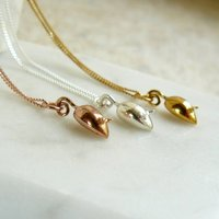 Tiny Mouse Charm Necklace