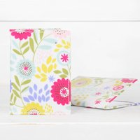 Floral Travel Or Credit Card Holder