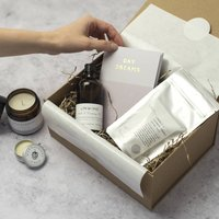 Personalised Relax And Unwind Gift Box
