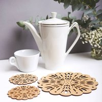 Eco Friendly Artisan Placemats And Coasters Set