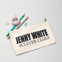 Personalised Hashtag Pencil Case