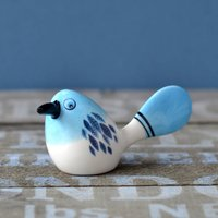 Fantail Ceramic Bird