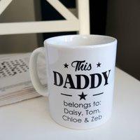 Personalised This Daddy Mug