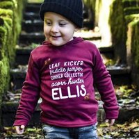 Personalised Woodland 'Alter Ego' Kids Top