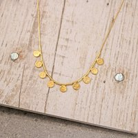 Paillette Short Necklace