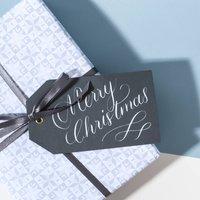 Three Sheets Of Scandi Christmas Snowflake Paper