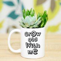 Grow Old With Me Personalised Mug