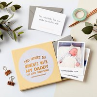 First Father's Day Memory Box