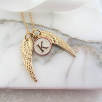 Angel Wing Necklace Personalised Gift For Her