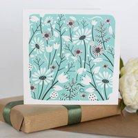 Coastal Path Flower Card