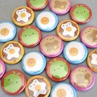 Kawaii Breakfast Badge Set