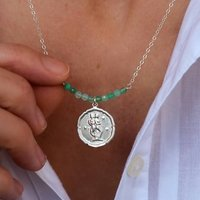 Personalised Gemini Star Sign Necklace